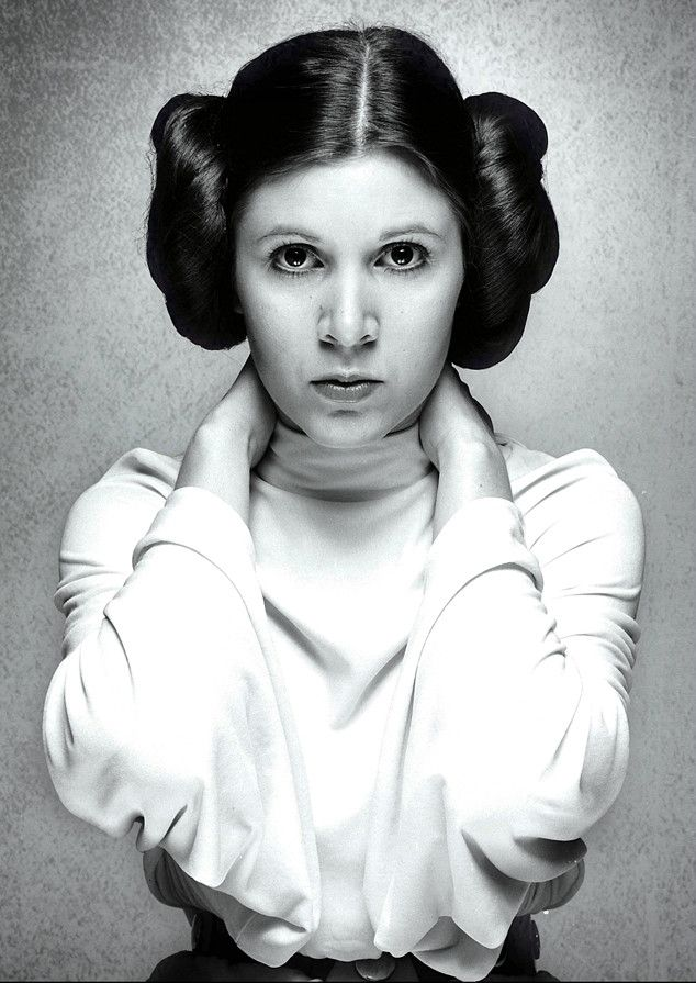 Princess Leia from Carrie Fisher: A Life in Pictures She ... Old Star Wars Princess Leia