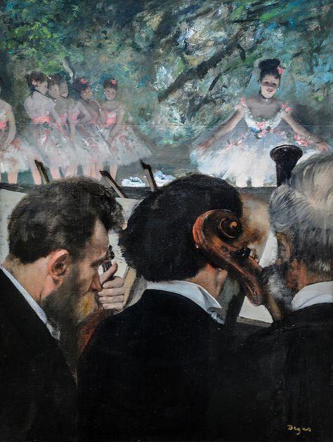 Edgar Degas - Orchestra Musicians, 1872                                                                                                                                                                                 More