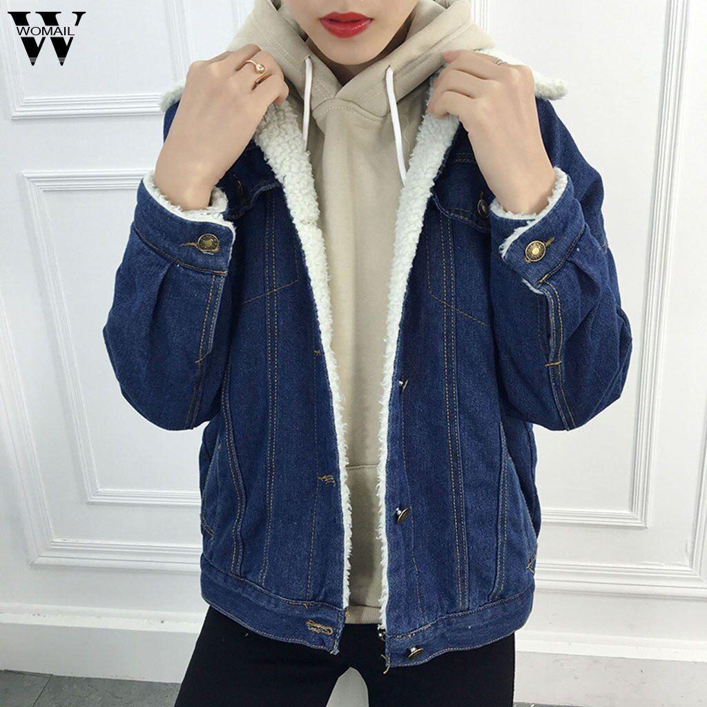 Usd 16 10 Buy Winter Elegant Long Womens Coat Blue Jean Jacket Thicken Warm Fleece Denim Coat Punk Outwear Wool Jackets Female Women S Clothing Pricetug Who In 2021 Denim Jacket Denim [ 1024 x 1024 Pixel ]