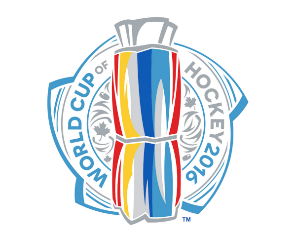 2016 World Cup Of Hockey Logo Hockey World Cup Hockey Logos Hockey