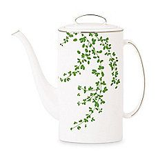 image of kate spade new york Gardner Street Green 52 oz. Coffee Pot