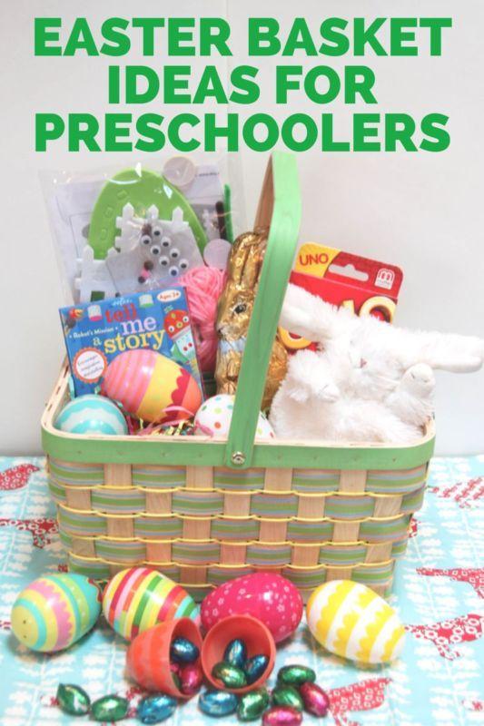 Easter basket ideas for preschoolers basket ideas easter easter basket ideas for preschoolers negle Choice Image