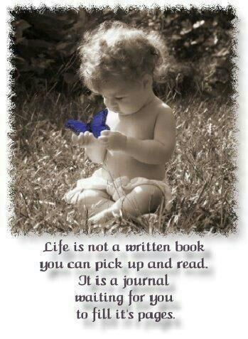Write your life story....