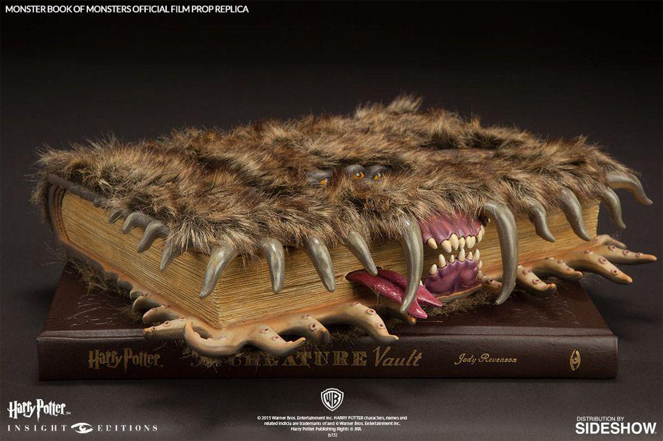 Acheter Le Monstrueux Livre Des Monstres Harry Potter