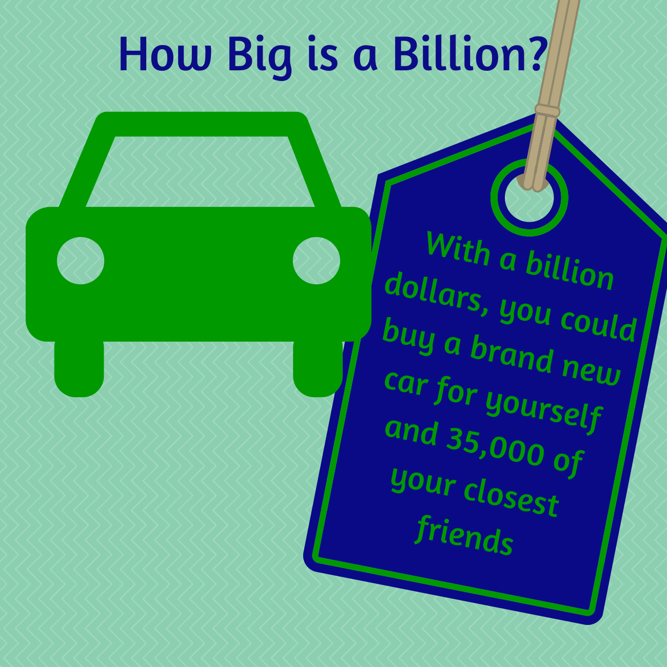 How big is $1 billion? @H&R Block is giving away some awesome prizes ...