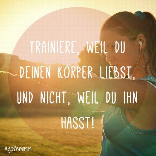 sport sprüche Motivationssprüche für den Sport auf .gofeminin.de #sport  sport sprüche