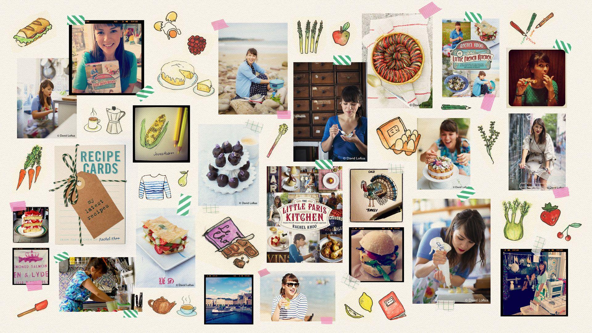 Rachel Khoo Little Paris Kitchen illustrations | Rachel Khoo xx ...