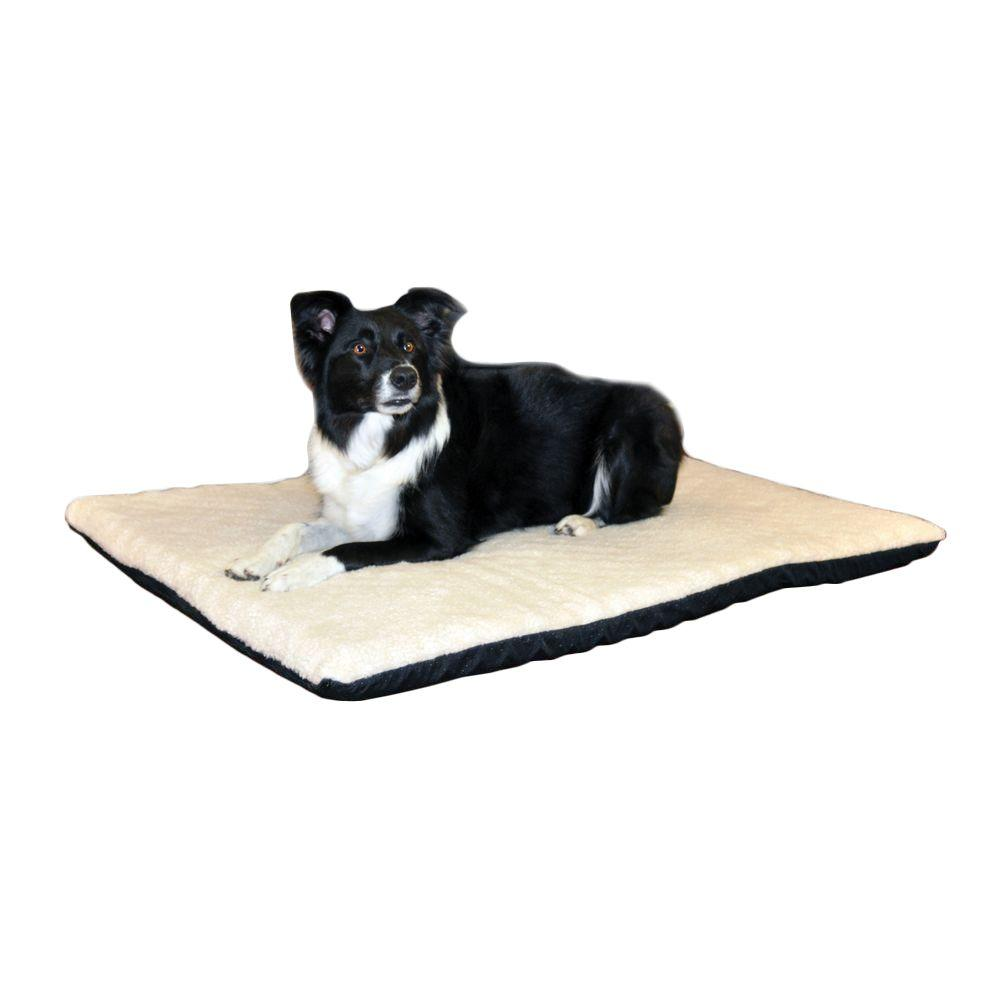 Ortho Thermo Large Cream Non Slip Heated Dog Bed 100213104