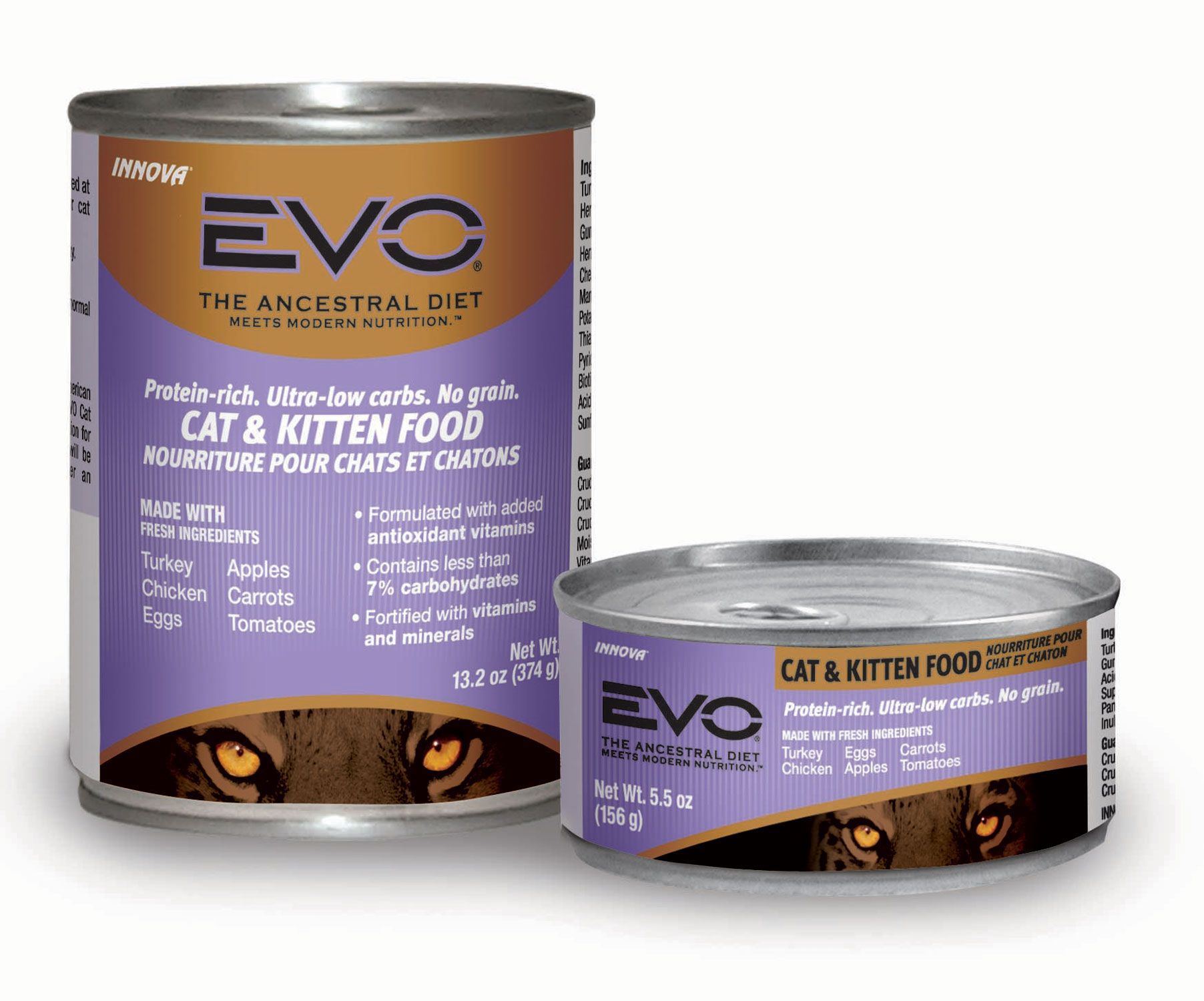 My Cats Love It Evo Turkey And Chicken Formula Canned Cat And Kitten Food Kitten Food Chicken Cat Cat Food