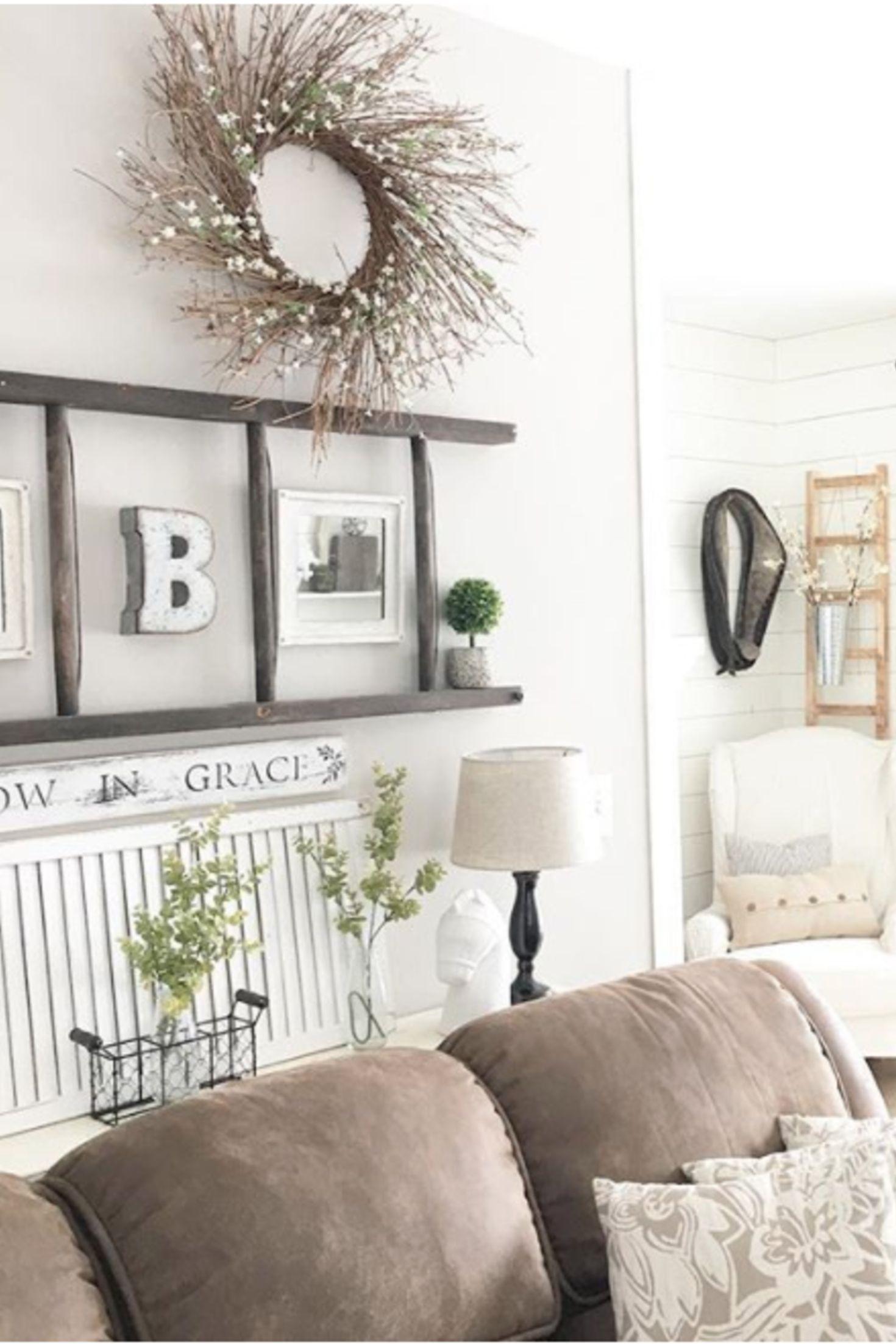 {Farmhouse Living Rooms} • Modern Farmhouse Living Room ...