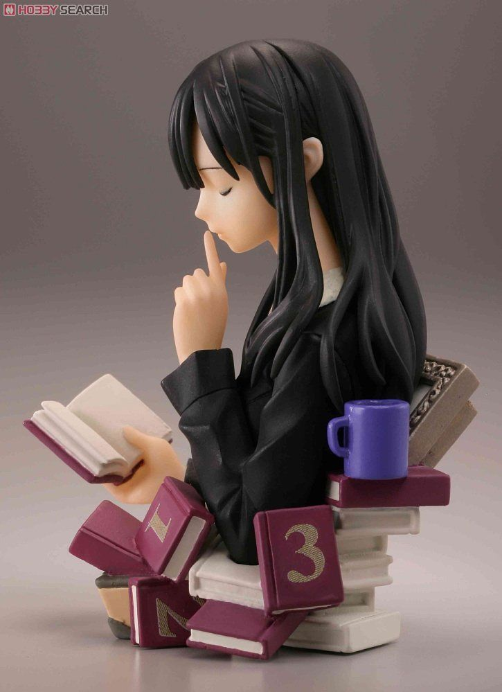 Girl Reading Bust Shiori Ko Incident Techos Capsule Q Fraulein Biburiakosho Do 24 Pieces