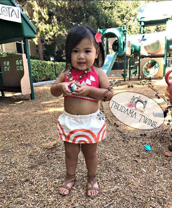 71935bfb6ba2b Baby Moana Costume Baby Moana Birthday Moana Outfit Toddler ...