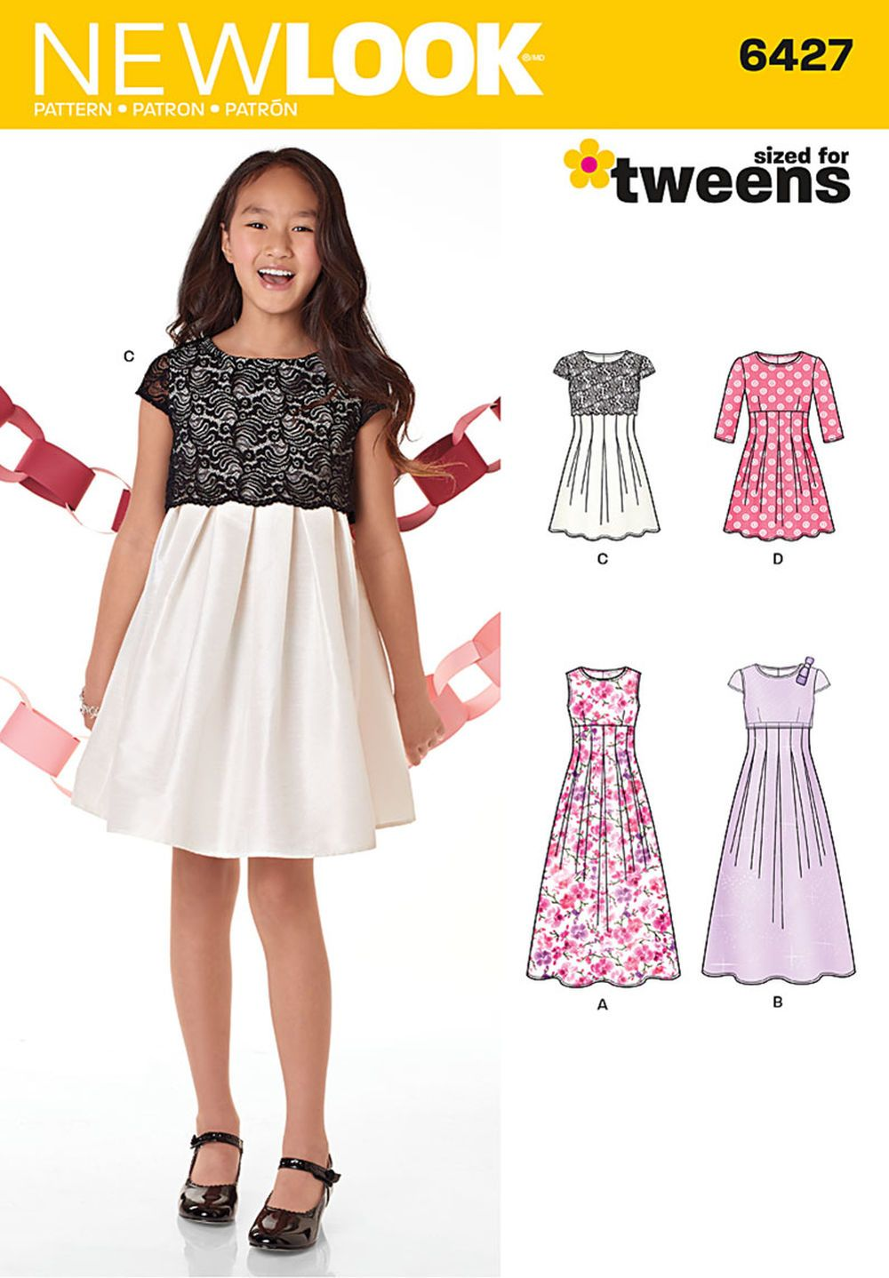 Special event or everyday dress pattern for girls features special event or everyday dress pattern for girls features sleeveless maxi dress with optional bodice overlay that has cap sleeves and bow detail jeuxipadfo Images