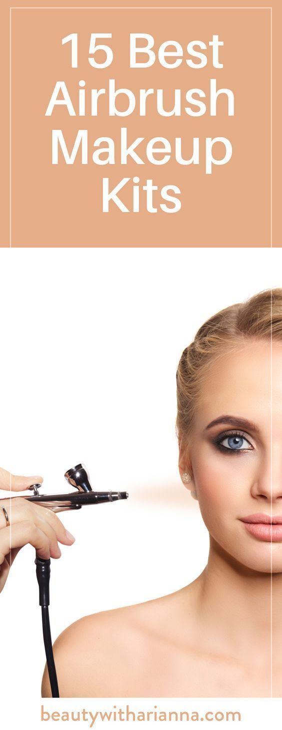 Makeup Airbrush kit before and after best photo