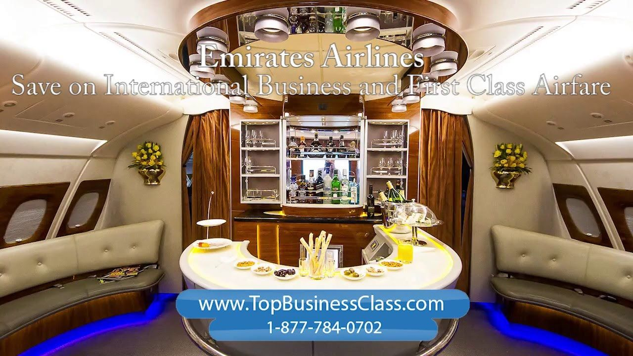 Emirates Airline Business Class and First Class Travel