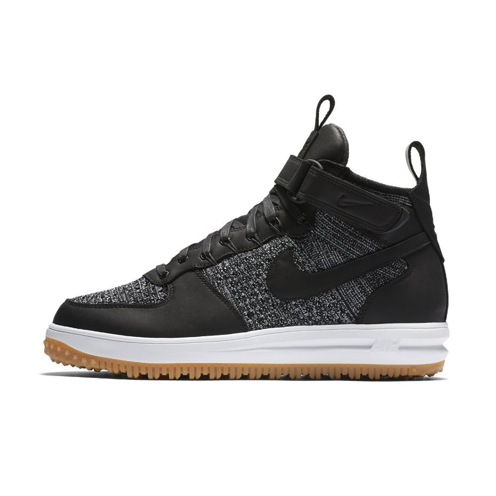 Nike Lunar Force 1 Flyknit Workboot Men's Shoe Size 11.5 (Black) -  Clearance Sale