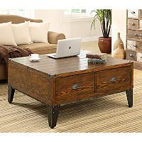 Wellington LiftTop Coffee Table Lift top coffee table Coffee and