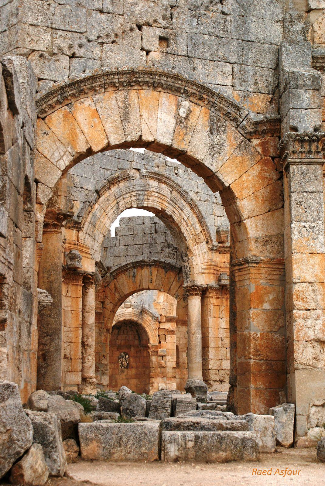 Sama'an Citadel . Syria