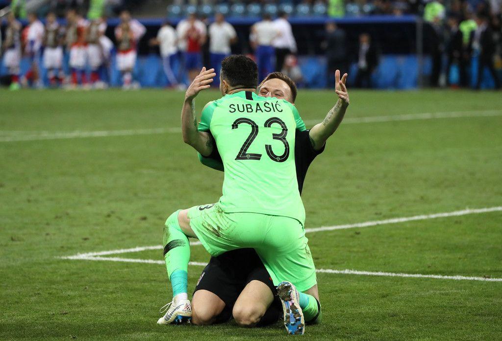Danijel Subasic Photos Photos Russia V Croatia Quarter Final 2018 Fifa World Cup Russia Ivan Rakitic Fifa World Cup Fifa
