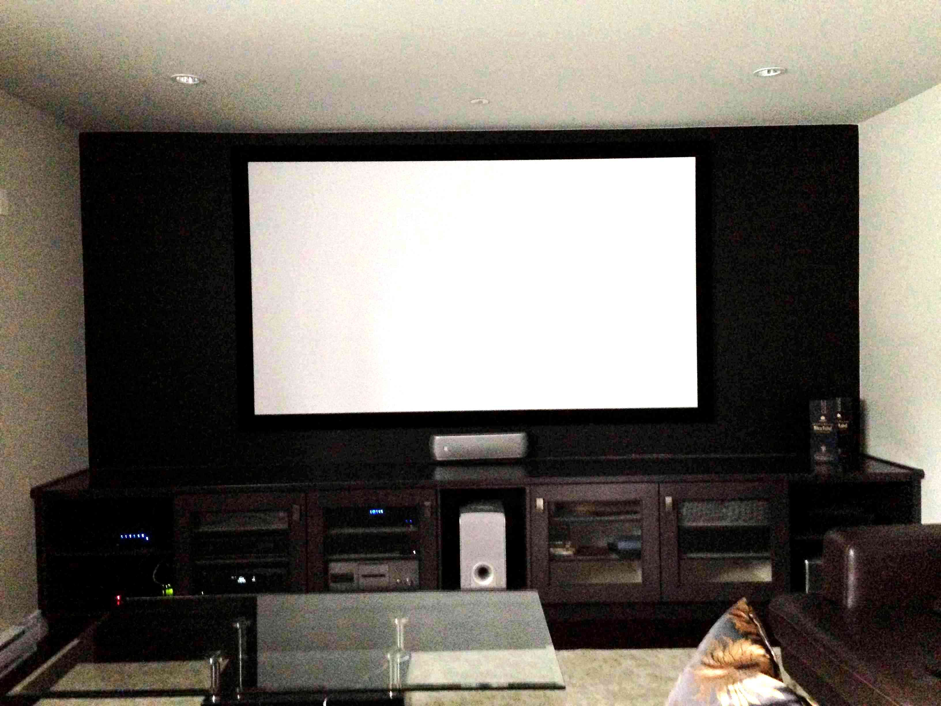 Custom Home Theatre Solution for Small Rooms by Tigon Security ...