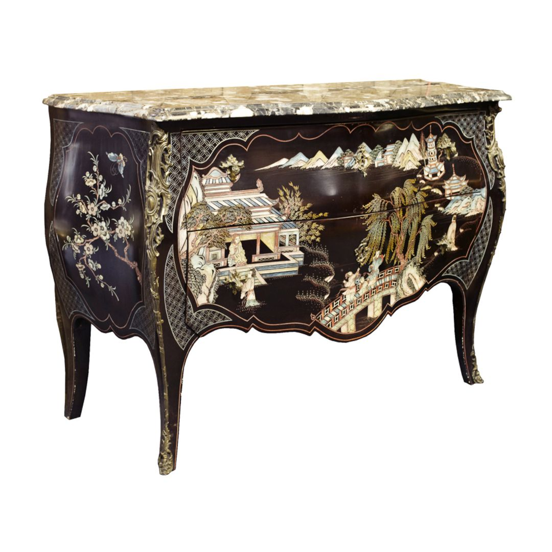 A French Louis XV Style Coromandel Commode