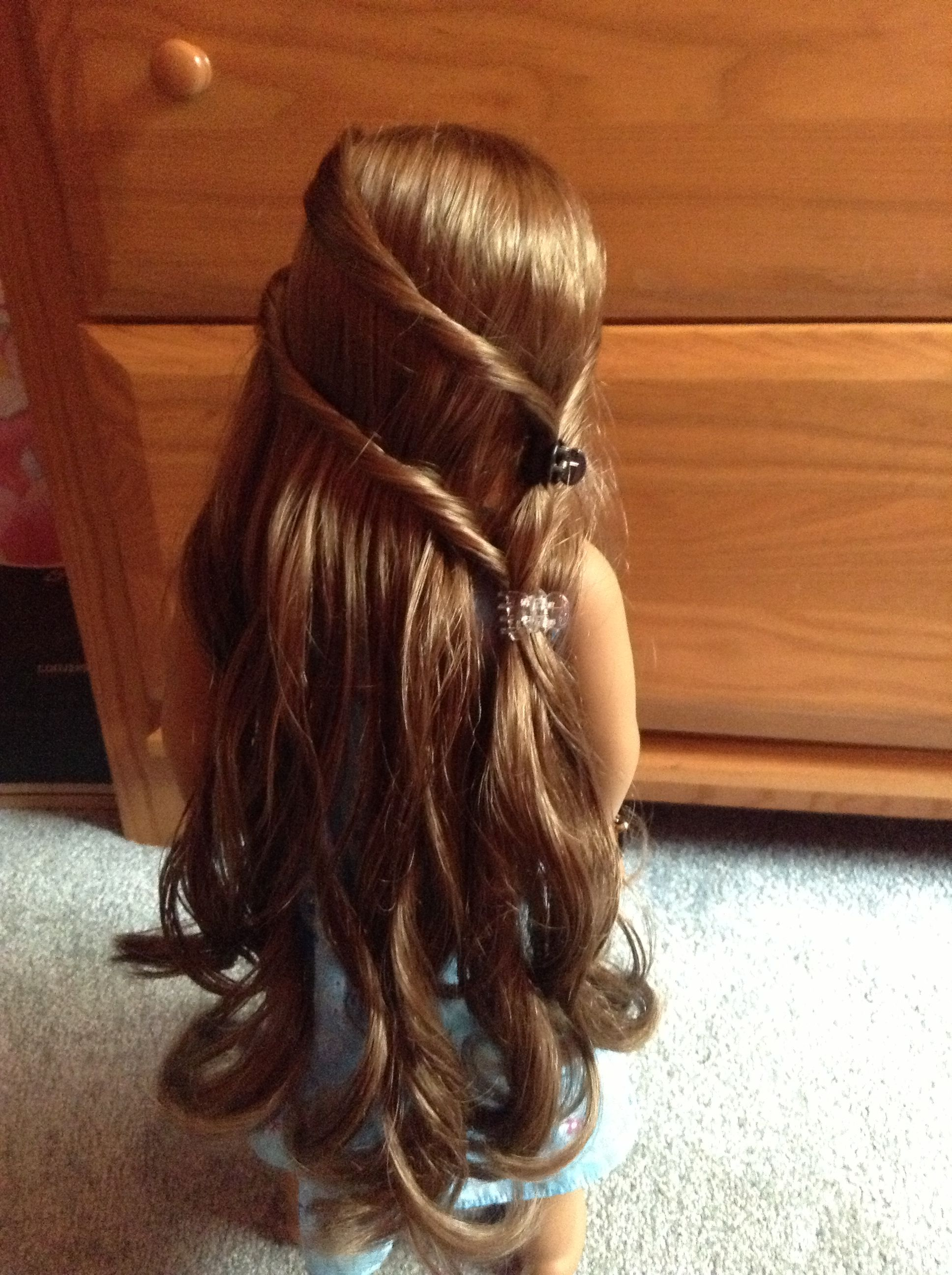 Cute ag doll hairstyles layla pinterest