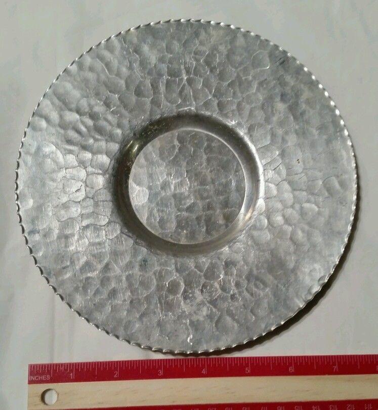 Rodney Kent Hand Wrought Creations 437 Aluminum Plate Hand Wrought Plates Aluminum