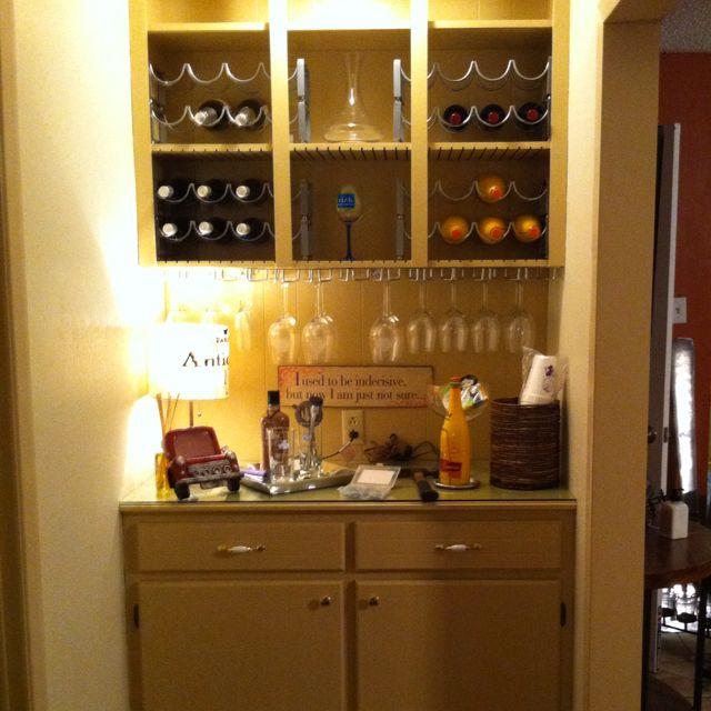 Better Pic Of Transforming Diy Wet Bar Loveee Kitchen