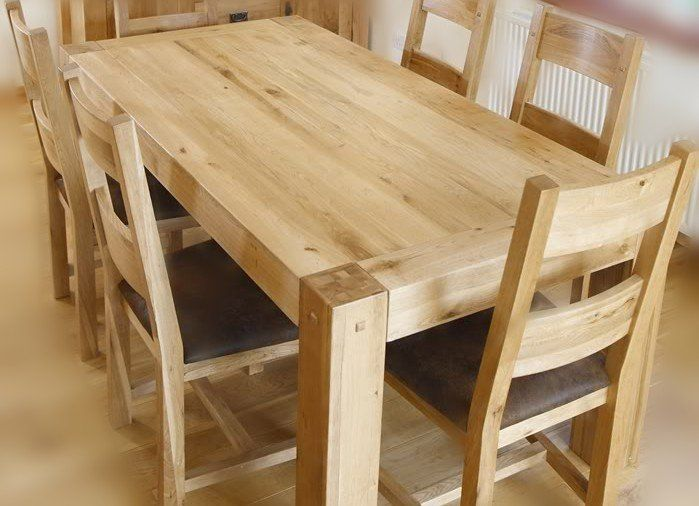 Raw Pine Table Google Search Wood Dining Room Table Pine