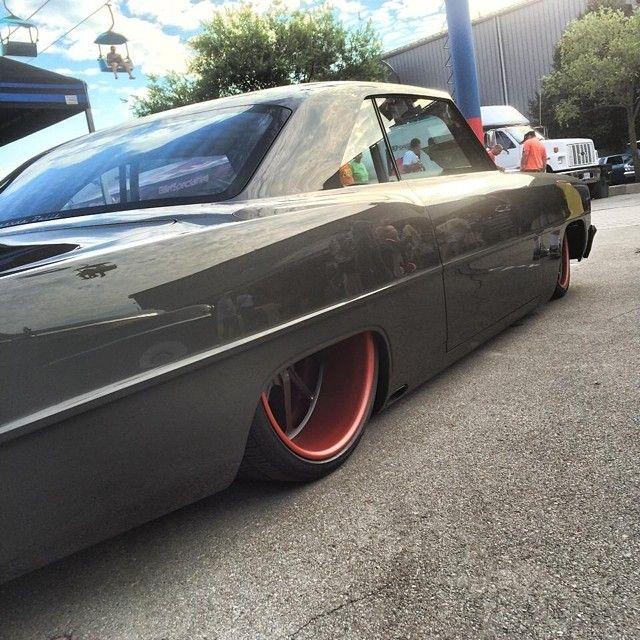Grey with red wheels 67 nova detroit auto rama miranda for Miranda motors used trucks