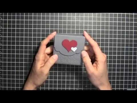 Stampin' Up! Valentines Card Box