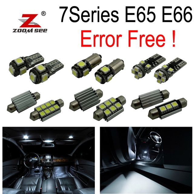20pc X Error Free Led Interior Dome Light Kit For Bmw 7 Series E65 E66 745i 745li 750i 750li 760i 760li 2002 2008 Mit Bildern Passat B7 Passat B6 Vw Passat B5