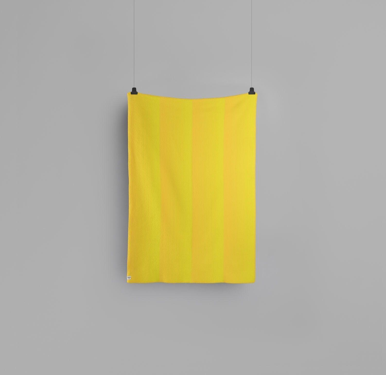 Roros Tweed Berg Decke Yellow Indoor Farbe Gelb Design