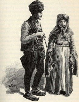 Traditional Male Gypsy Clothing
