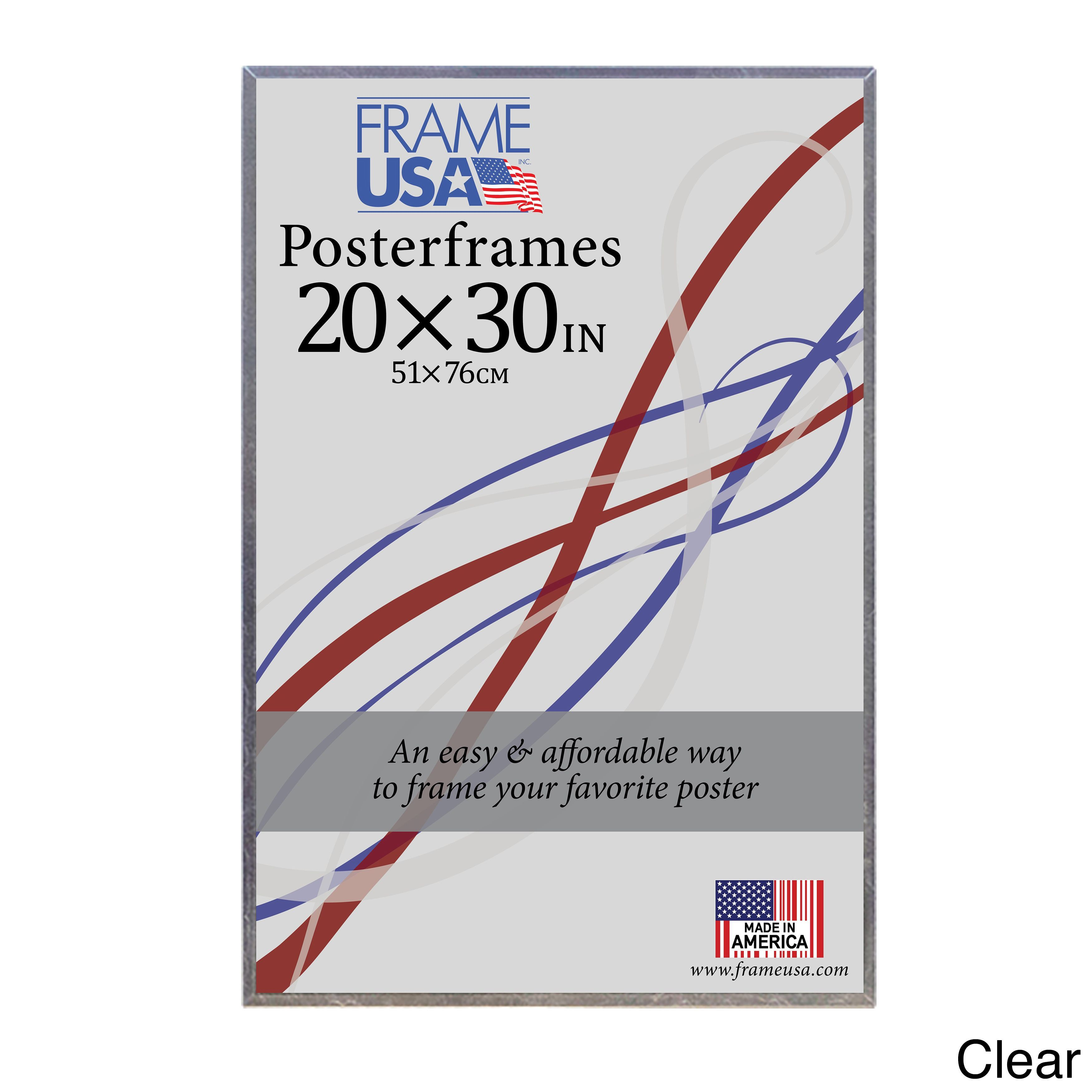 Corrugated Poster Frame (20x30) (Black) (Plastic) | Outlet store and ...