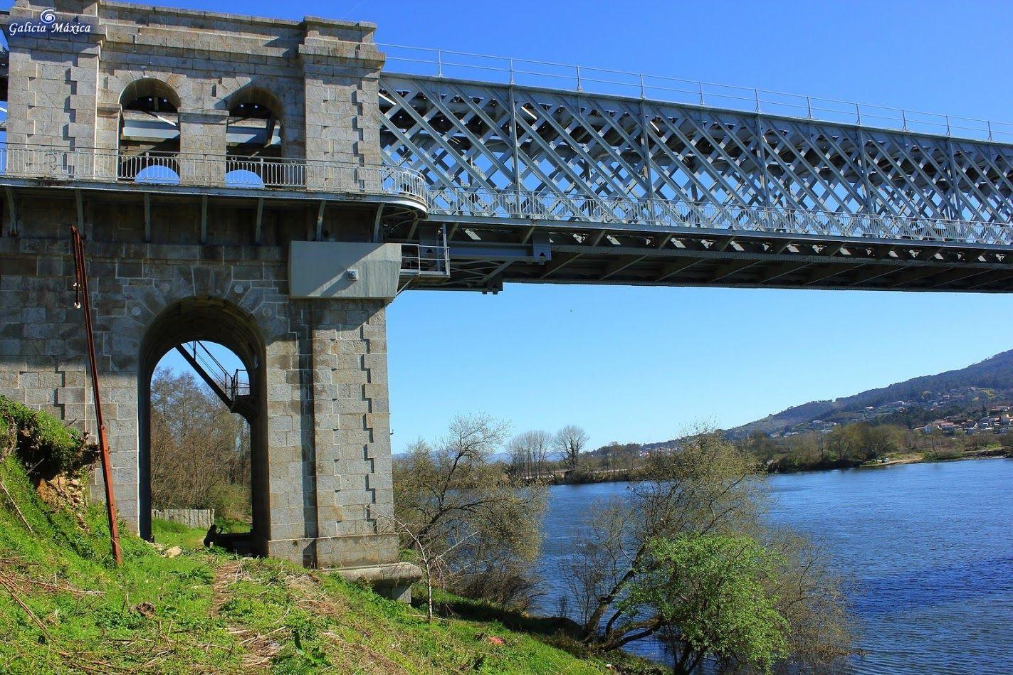 Puente internacional de tui sobre el mi o que une galicia y portugal pontevedra desde arbo - Que hay en portugal ...