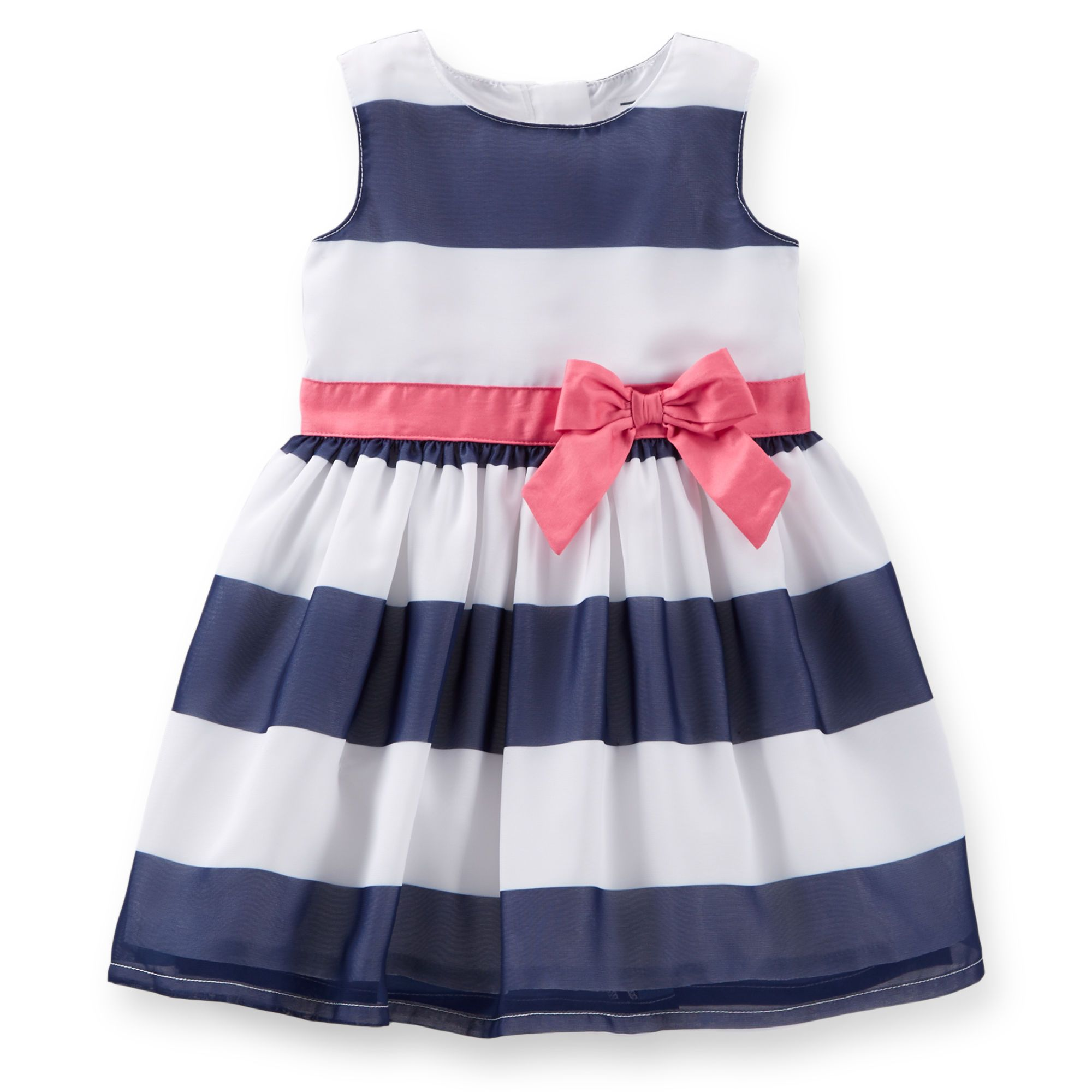 Crepe Striped Easter Dress Carters