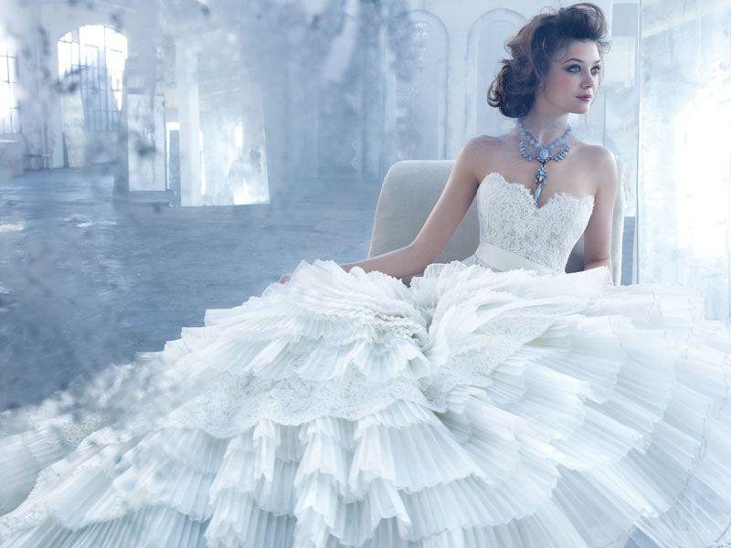 Lazaro alternate view lazaro wedding dress stunning