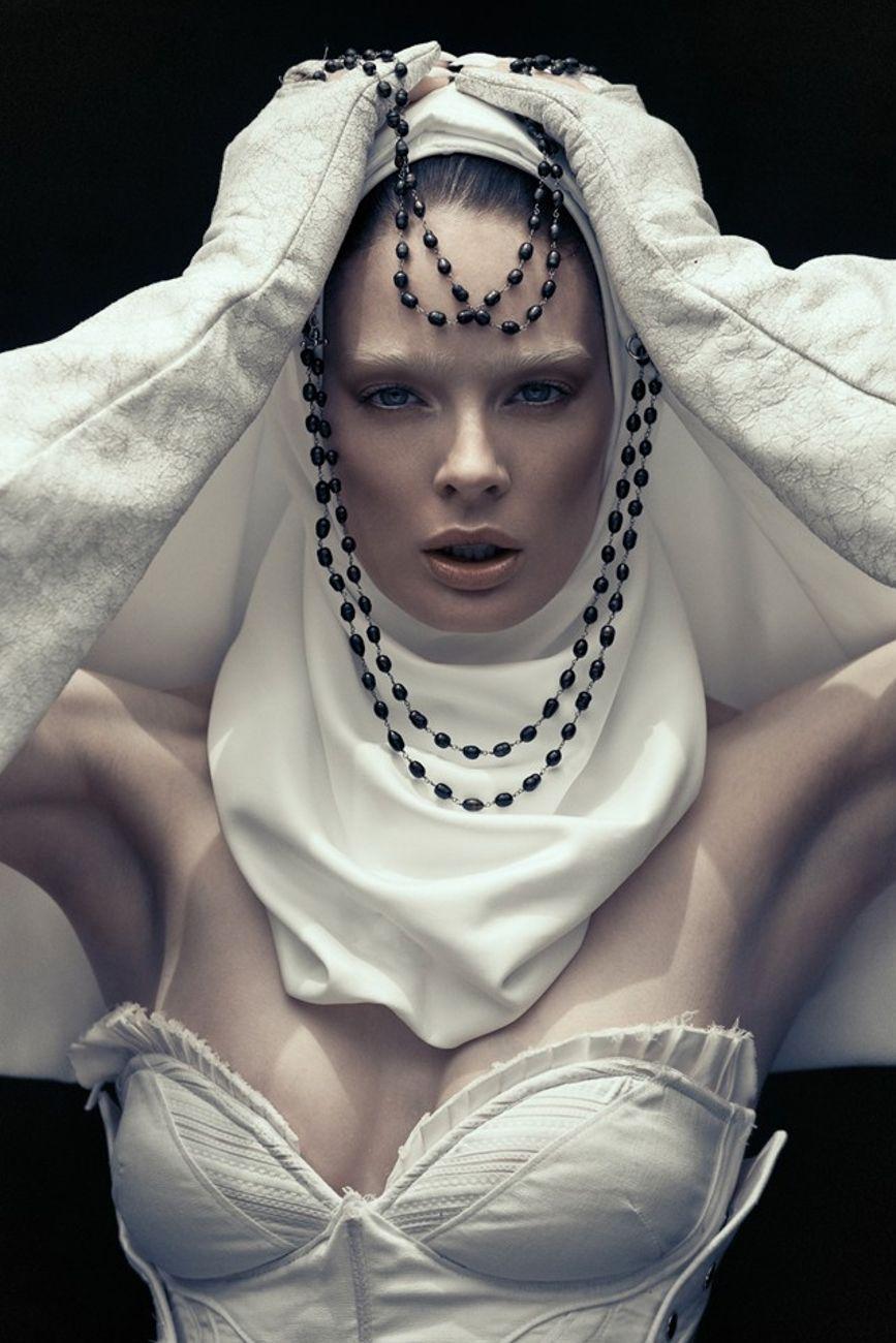 For I Have Sinned by Khoa Bui Fashion, Nun costume, Love