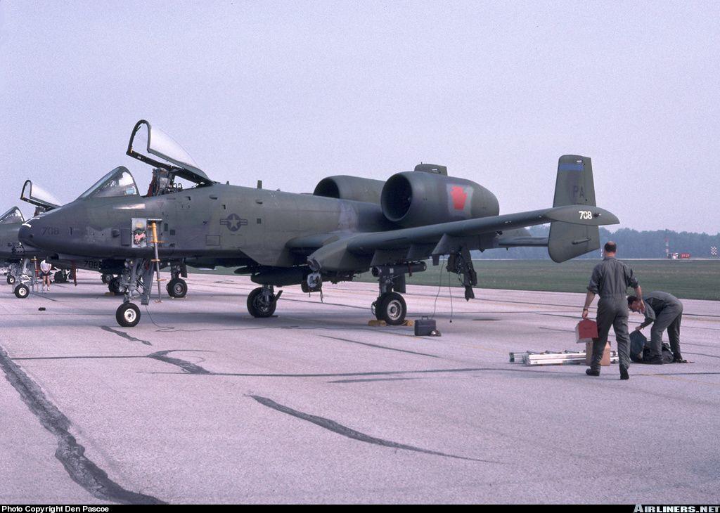 Fairchild A-10A Thunderbolt II aircraft picture