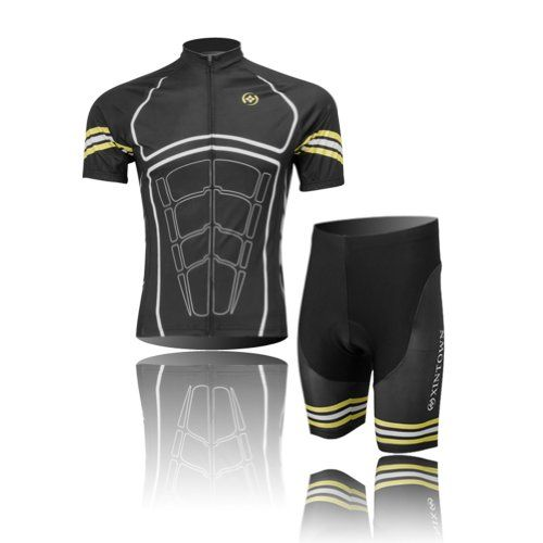 XXX-Large HAMSWAN Mens Loose-Fit Padded Breathable Bike Shorts for Cycling