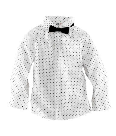 H & M Kids Polka Dot Shirt! So cute ! Crossing my fingers I will ...