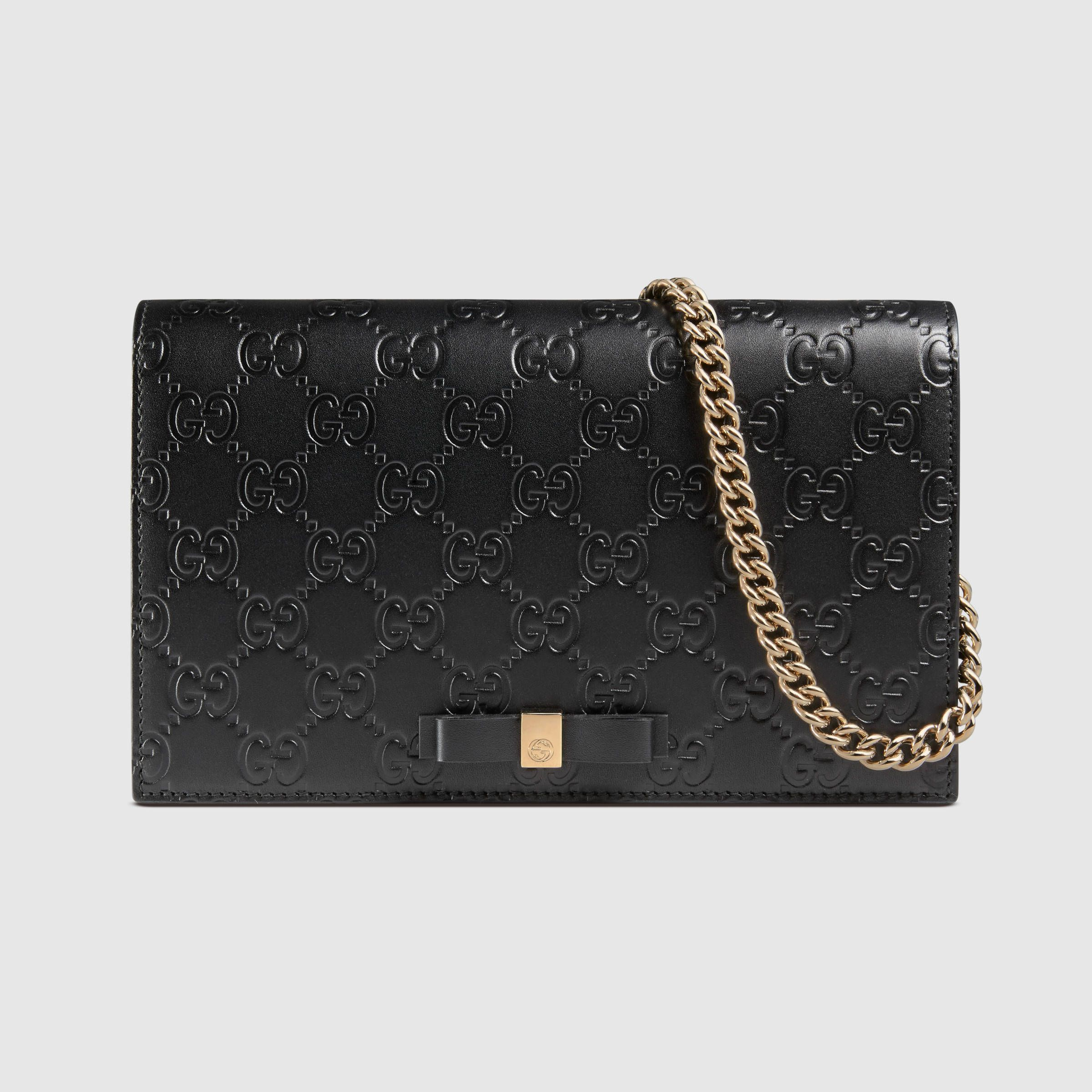 858b396606e7da Padlock continental wallet | Styling | Gucci padlock, Wallet chain ...