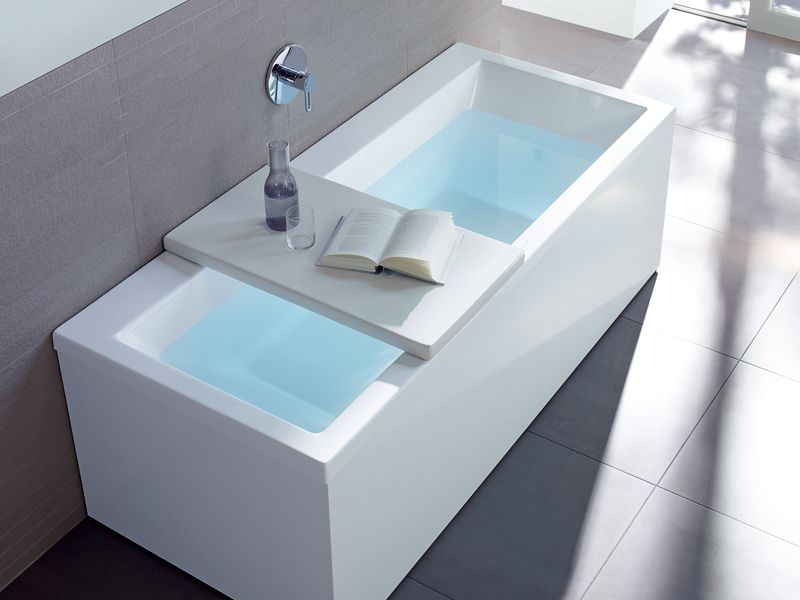 Superficies de apoyo para la bañera BATHTUB COVER by DURAVIT | Casa ...