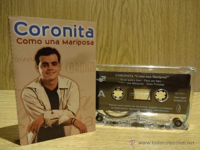 CORONITA. COMO UNA MARIPOSA.  MC / J.J. RECORDS - 2000. CALIDAD LUJO.