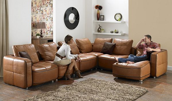 7 Modern L Shaped Sofa Designs For Your Living Room Contemporary Leather Sofa Leather Corner Sofa Sofa Design