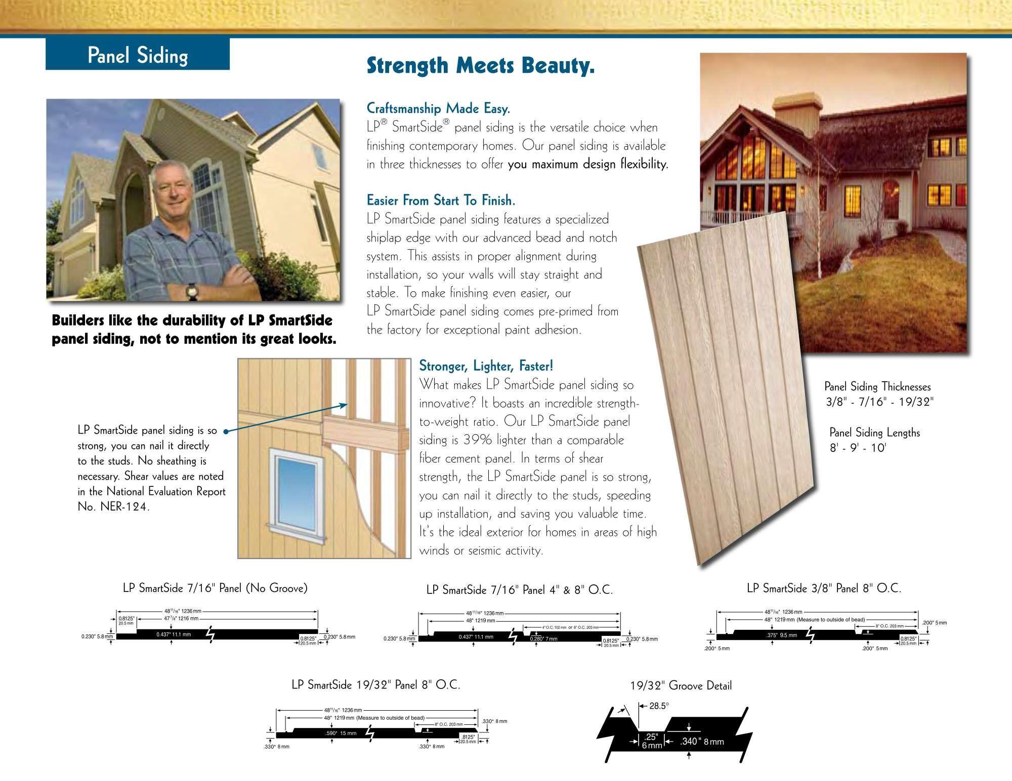 Lp smartside panel for your outstanding house exterior lp for Lp smartside lap siding sizes
