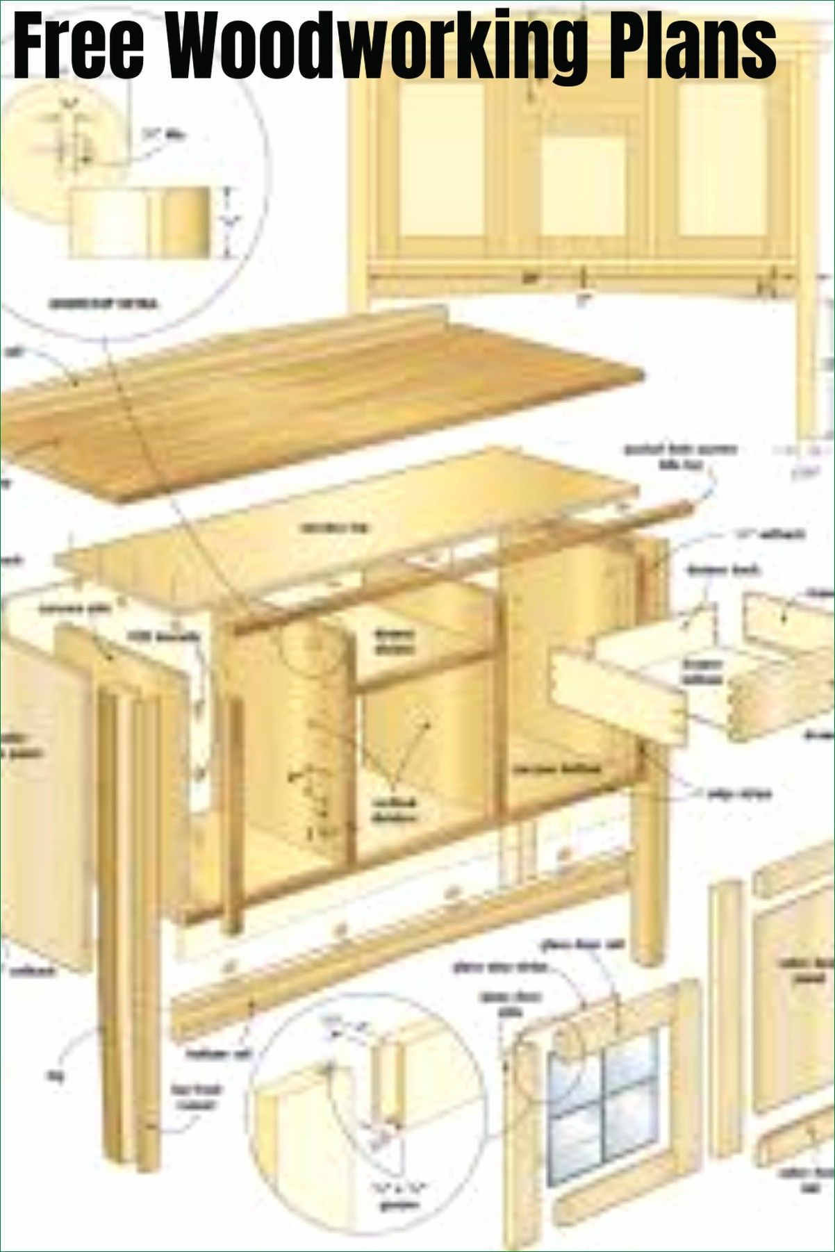 Free Woodworking Plans Free Woodworking Plans Looking For Woodworking Plans Its In 2020 Woodworking Furniture Plans Sideboard Woodworking Plans Woodworking Plans Diy