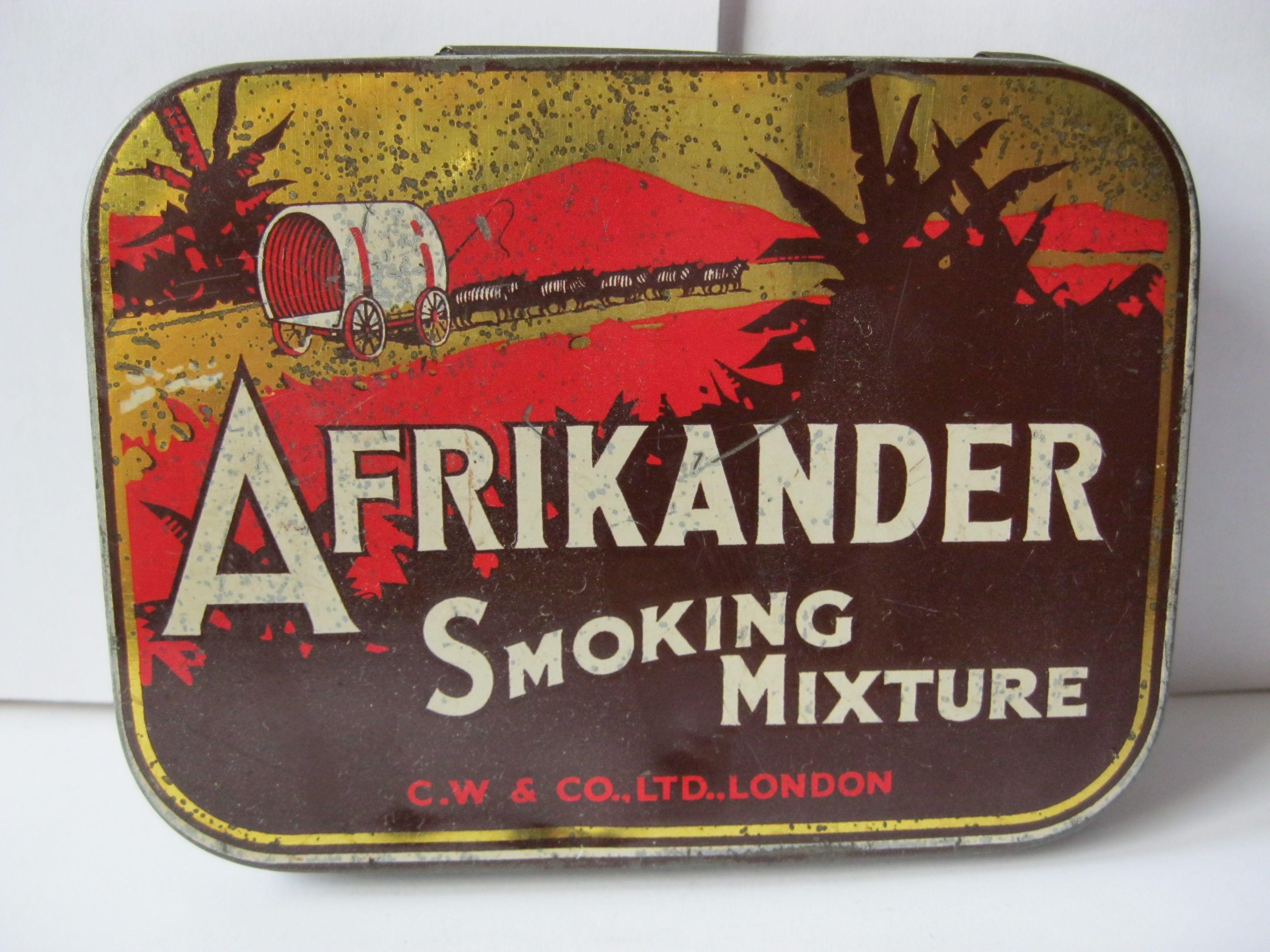 """AFIKANDER"" Tobacco tin"