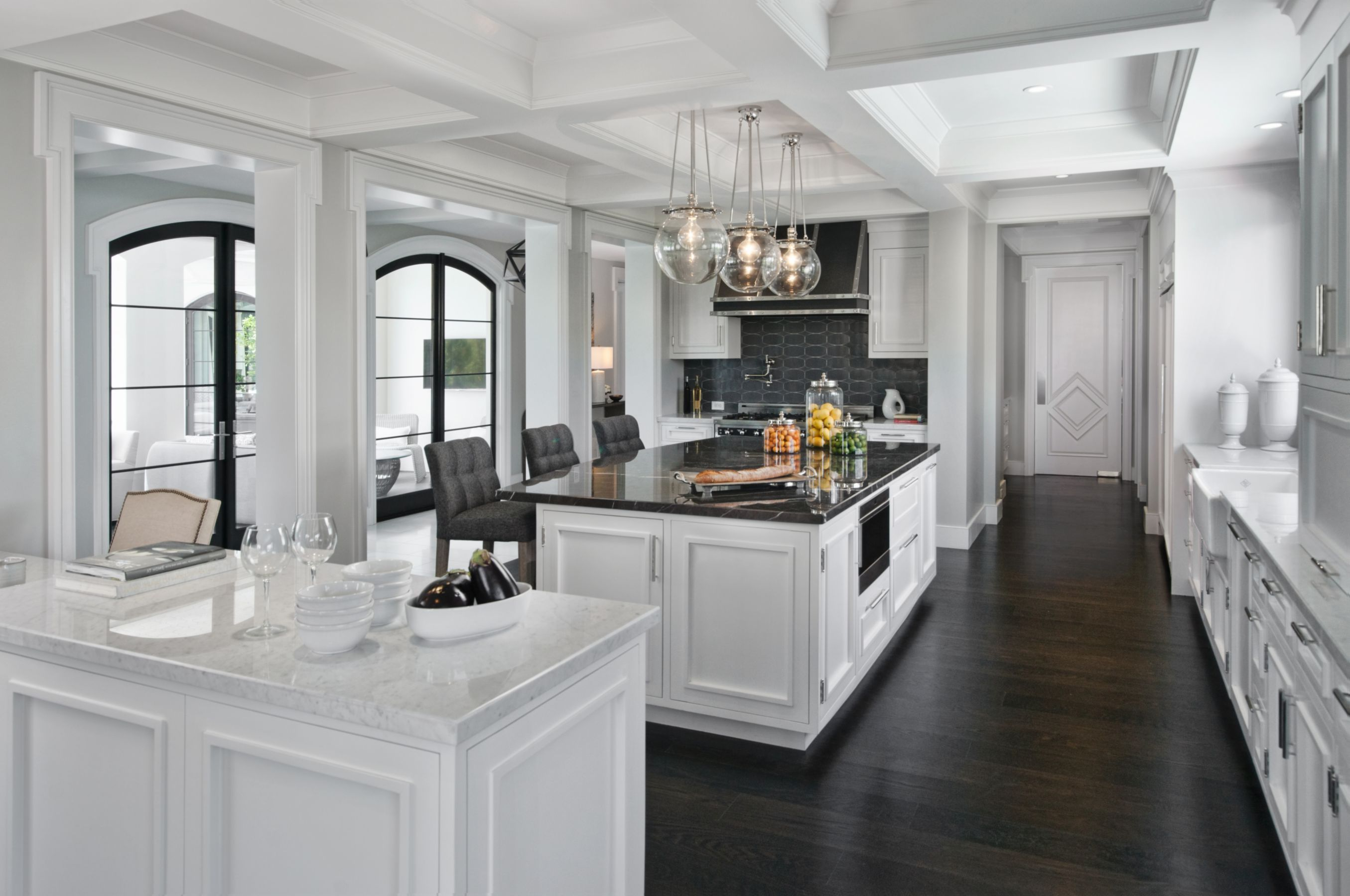 Best Modern White Breakfast Nook Luxesource Luxe Magazine 640 x 480
